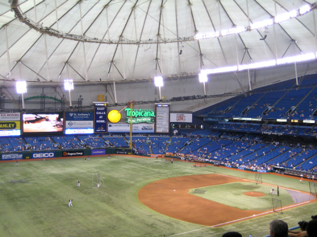Tropicana Field Tour